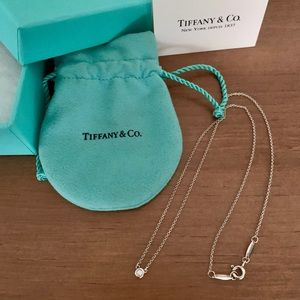 Tiffany & Co Diamond Elsa Peretti necklace